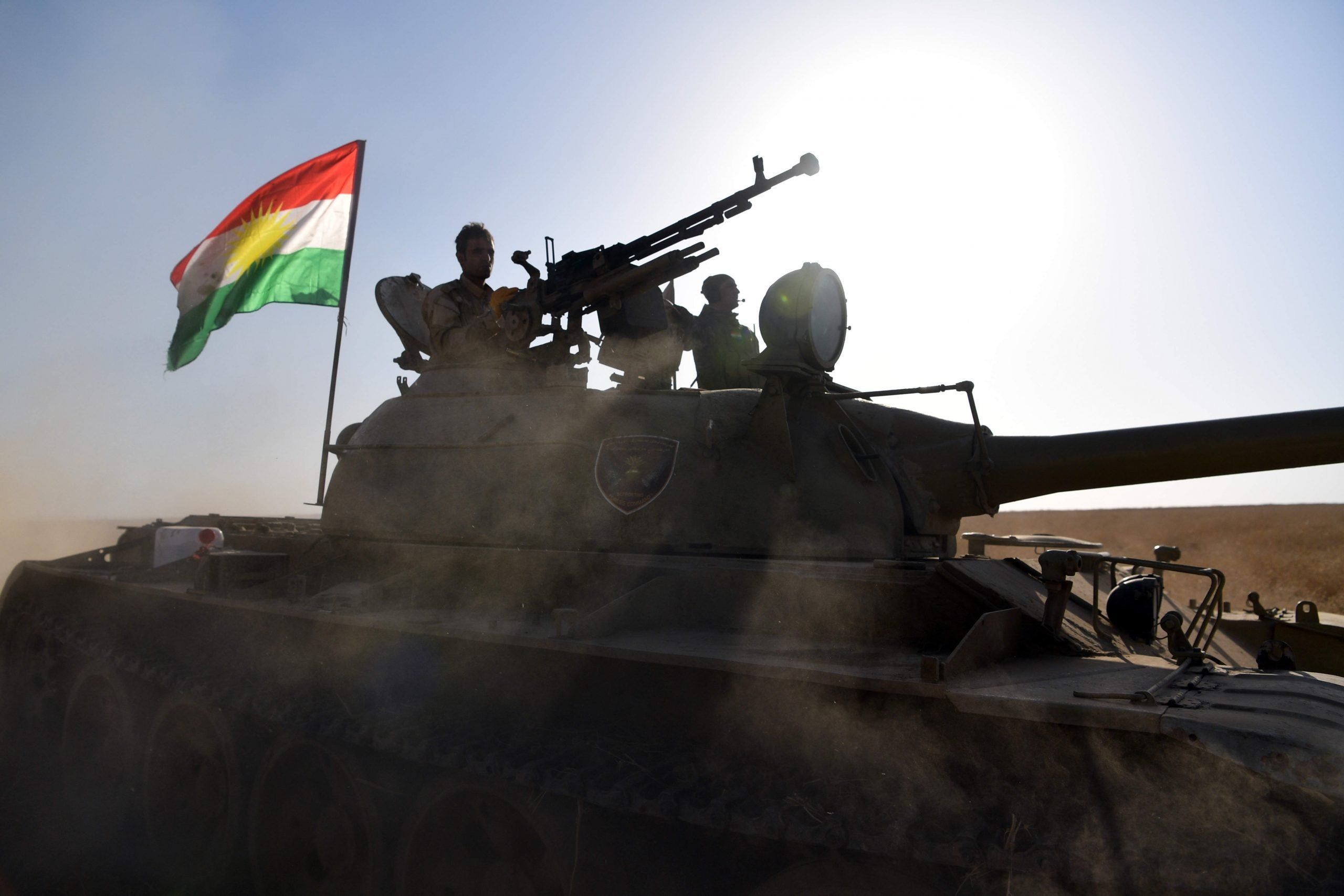 Dispatches from the frontline: Bernard-Henri Lévy on the road to Mosul