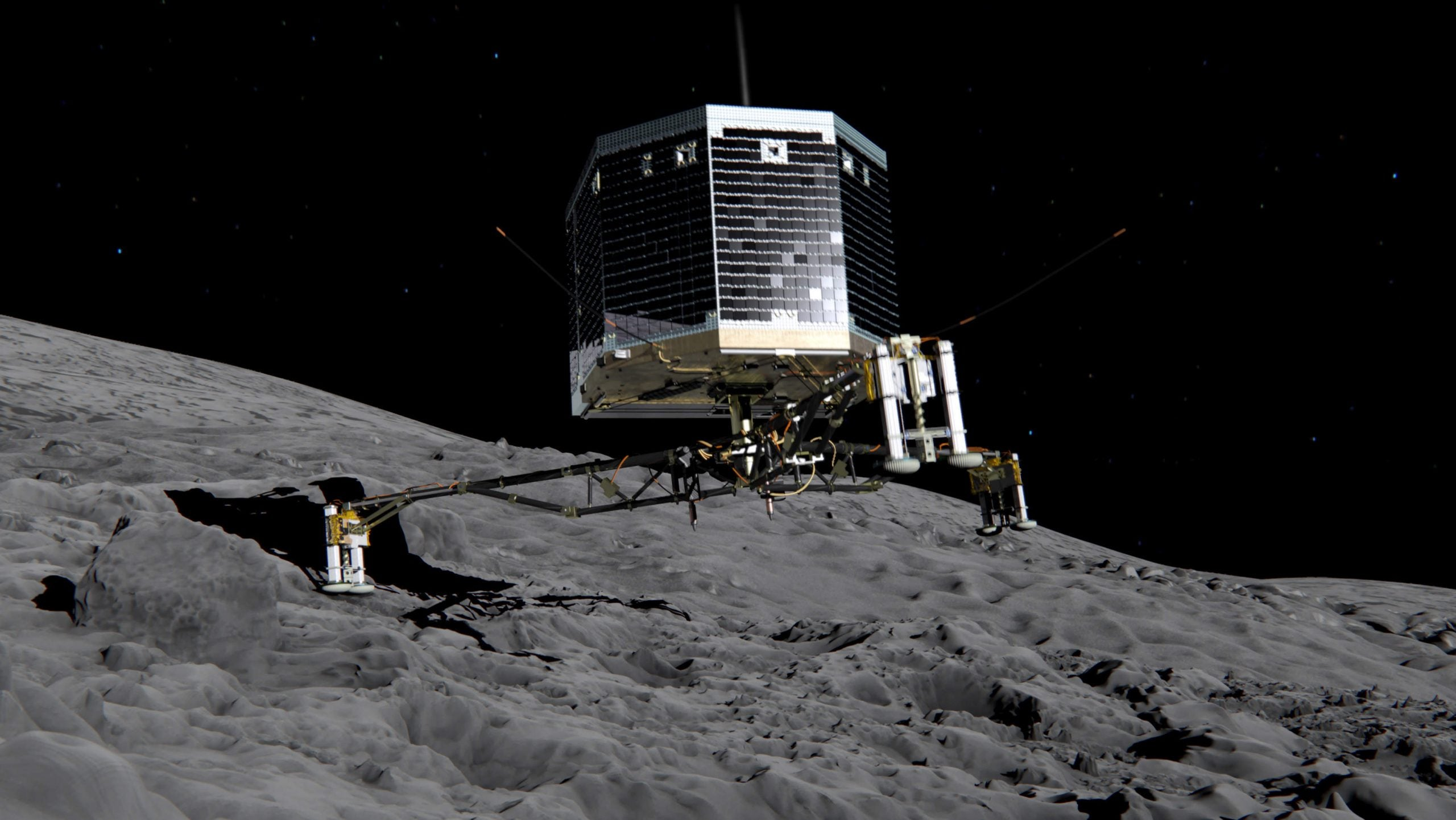 Found in space: the lost comet lander Philae has finally been discovered after a two-year search