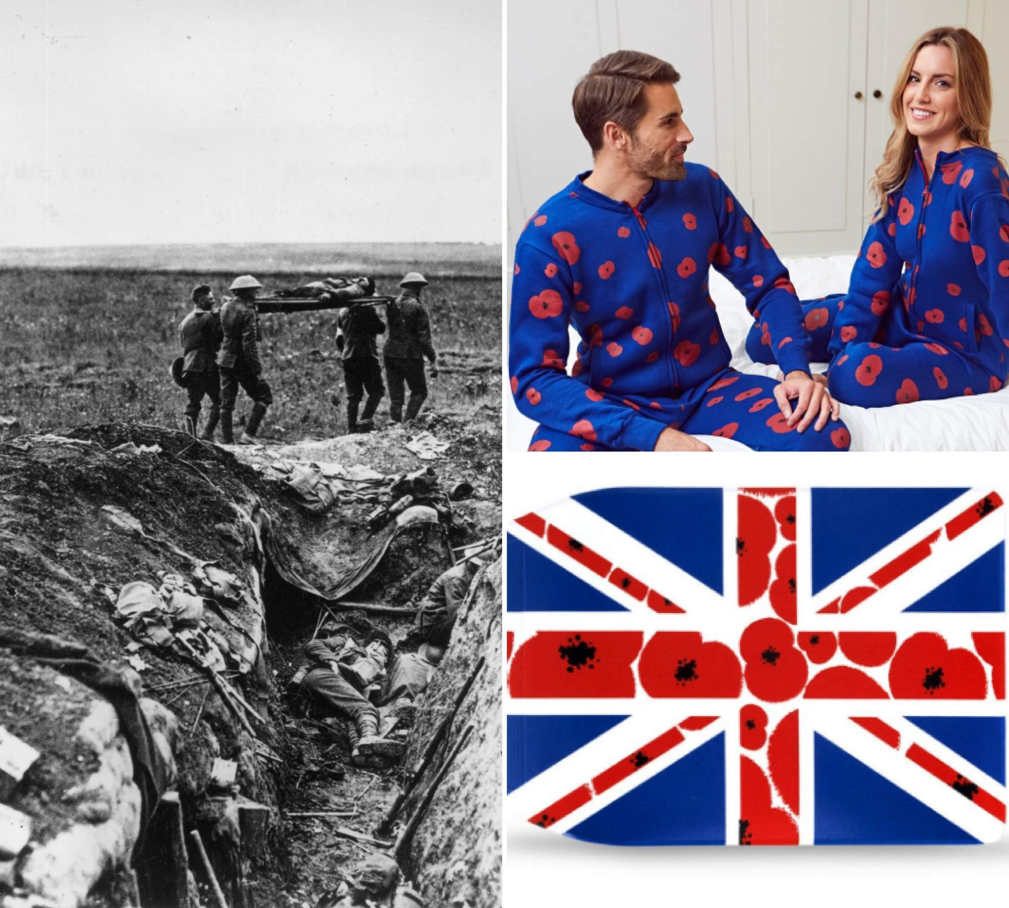 Poppy tat lets you keep the pride – but ignore all the horrors of war