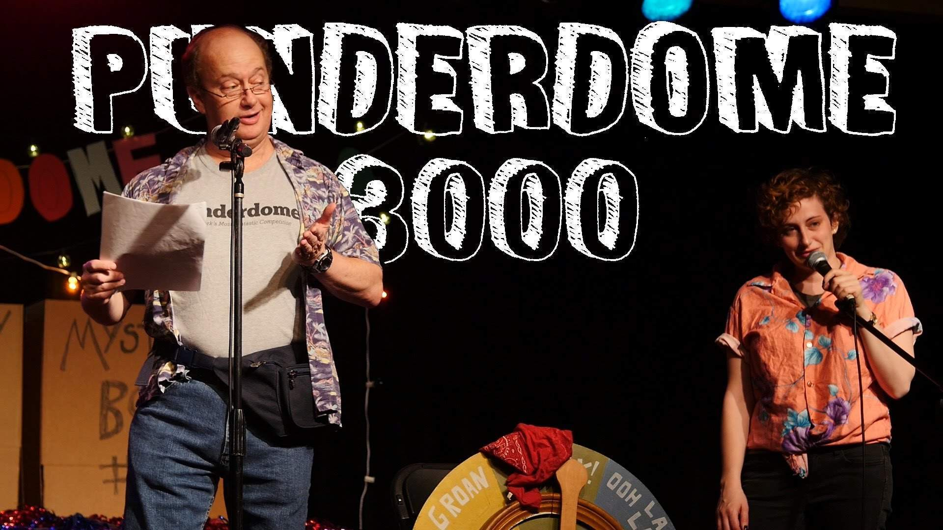 A night out at the Punderdome 3000