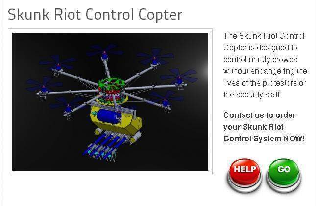South African mining firm is the first to purchase riot control drone