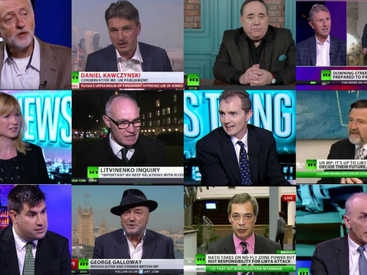 How Russia Today divided Westminster