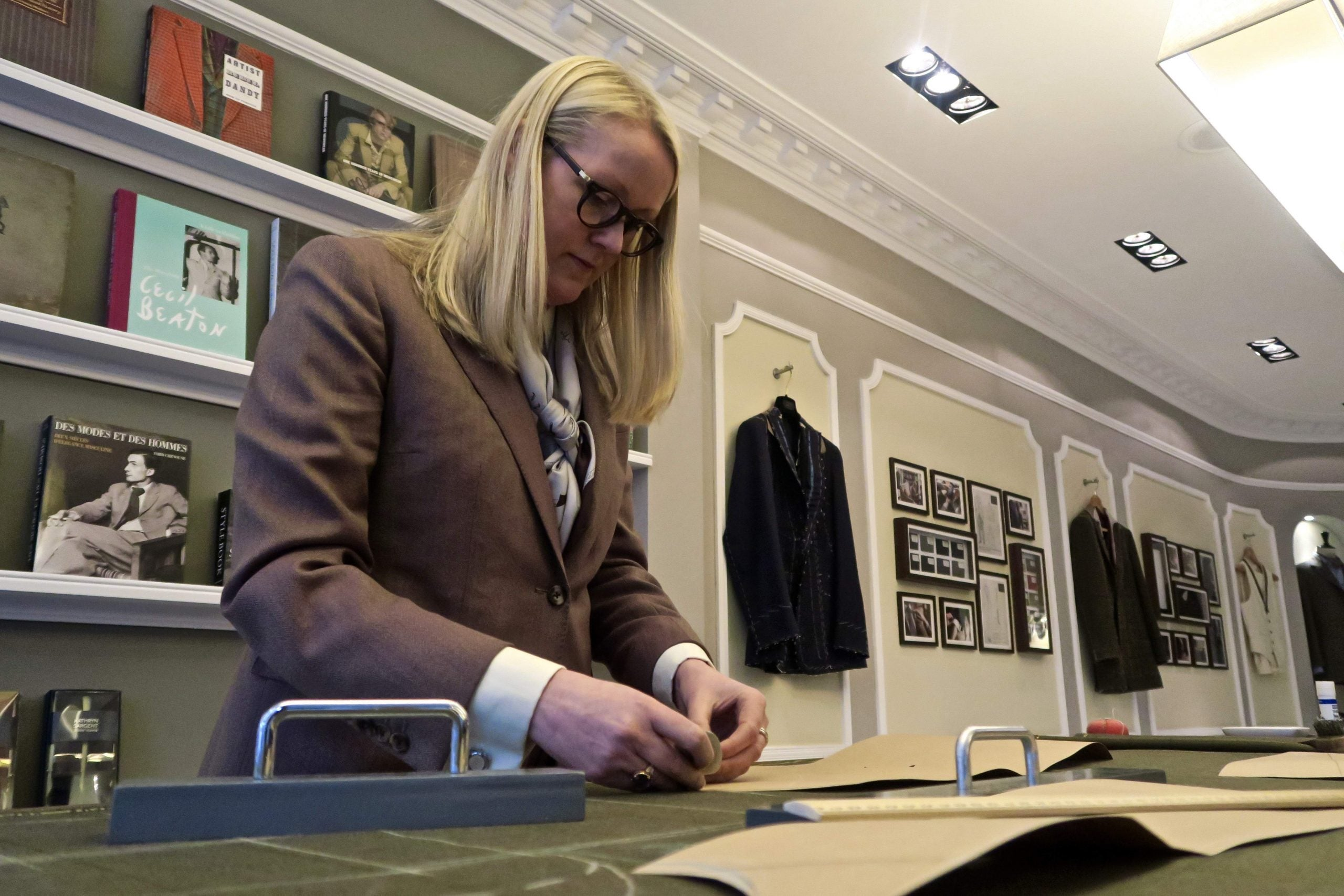 Meet Kathryn Sargent, the first woman to set up shop on Savile Row