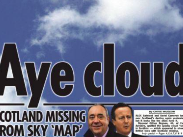 The best Scottish referendum newspaper front pages