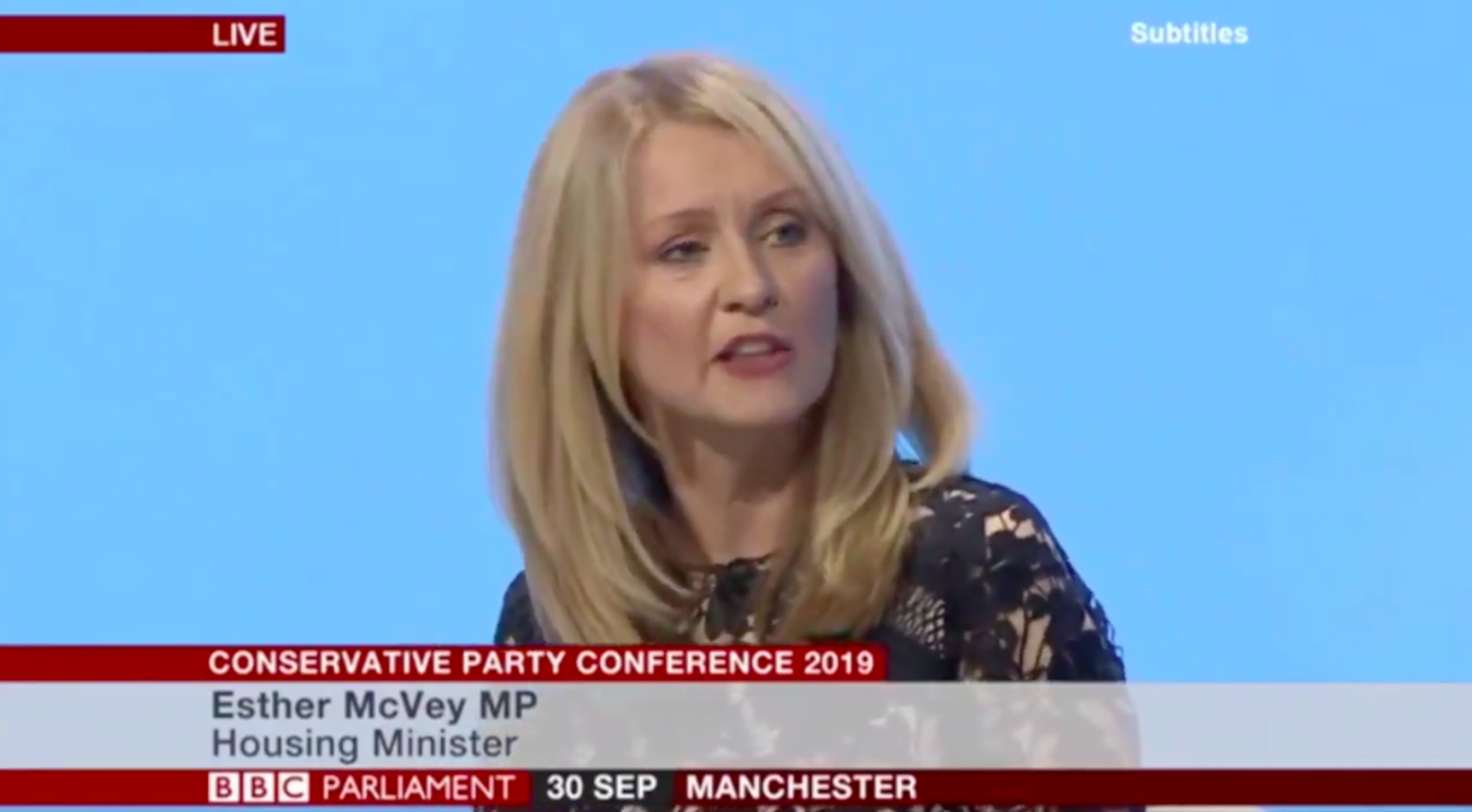 """WATCH: Tory housing minister reveals """"3D architects"""" are using """"computers"""""""