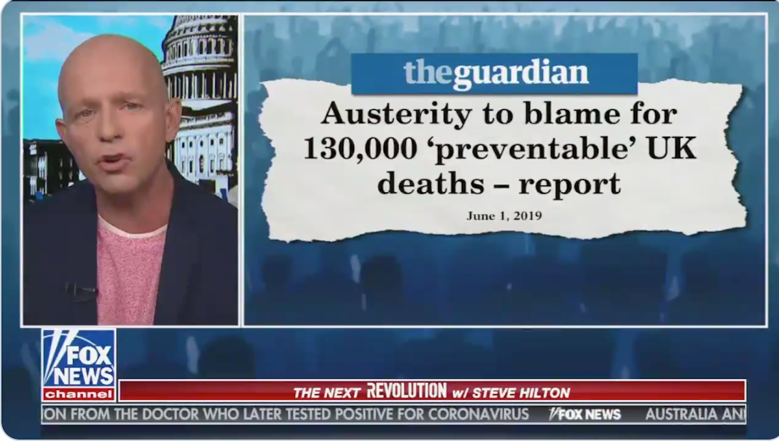 David Cameron's chief adviser just said austerity caused 130,000 avoidable deaths