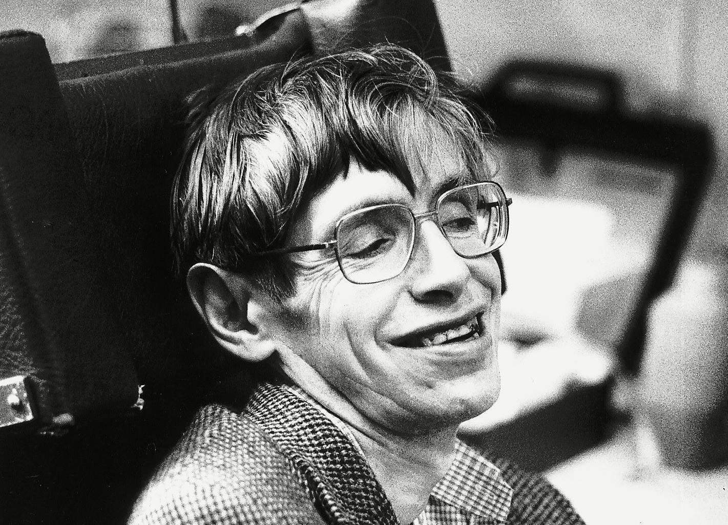 Stephen Hawking's life is a triumph of intellect over adversity