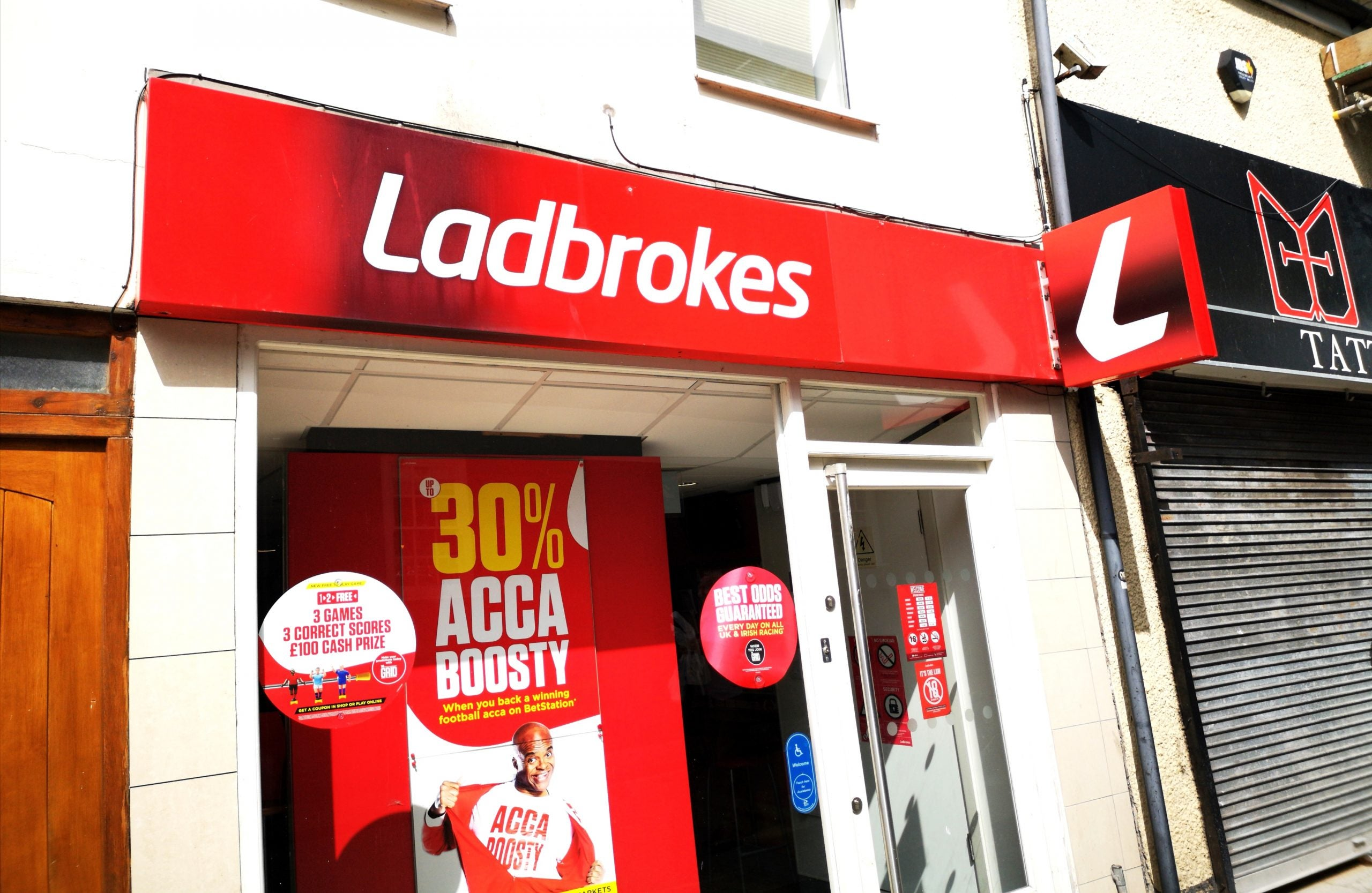 Ladbrokes Coral owner forecasts £50m earnings boost after Covid online betting surge