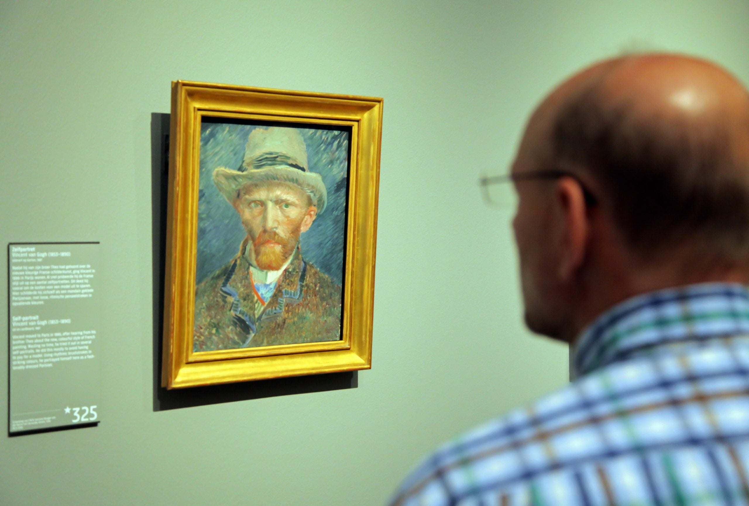 Amsterdam: Van Gogh's wet paint under a microscope, and the world's most silent tourists