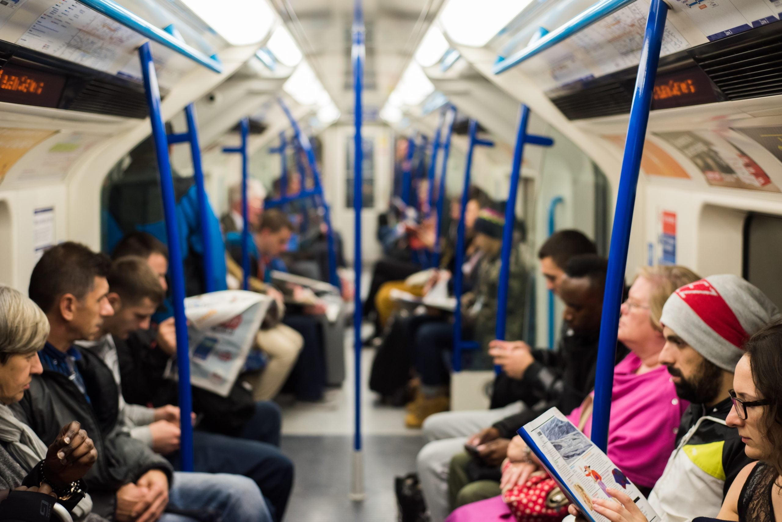 If you want to meet beautiful women, carry a theatre programme around on the Tube