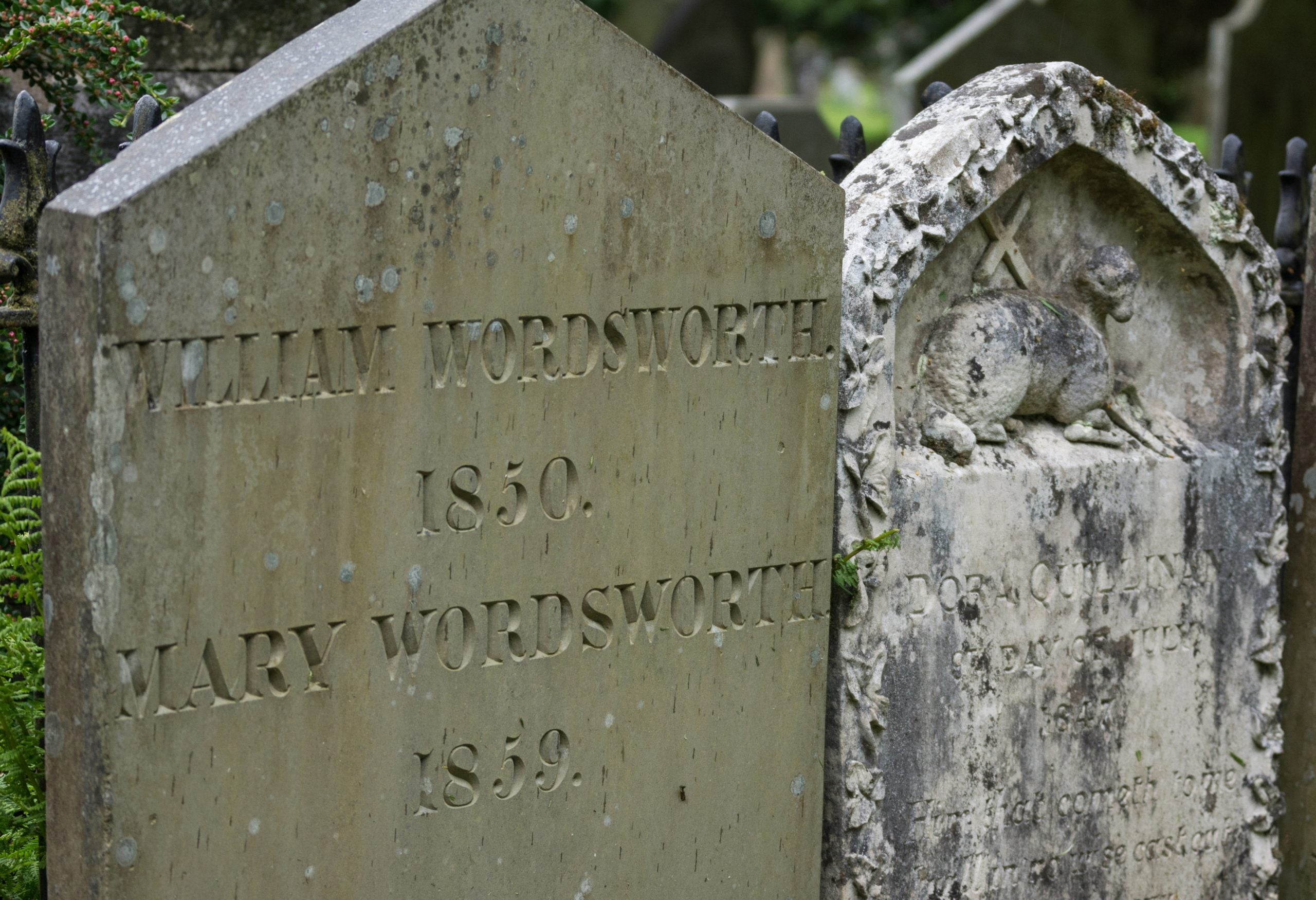 Following Wordsworth's footsteps
