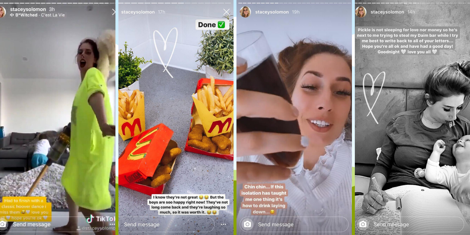 Why we should all be watching Stacey Solomon's Instagram Stories during self-isolation