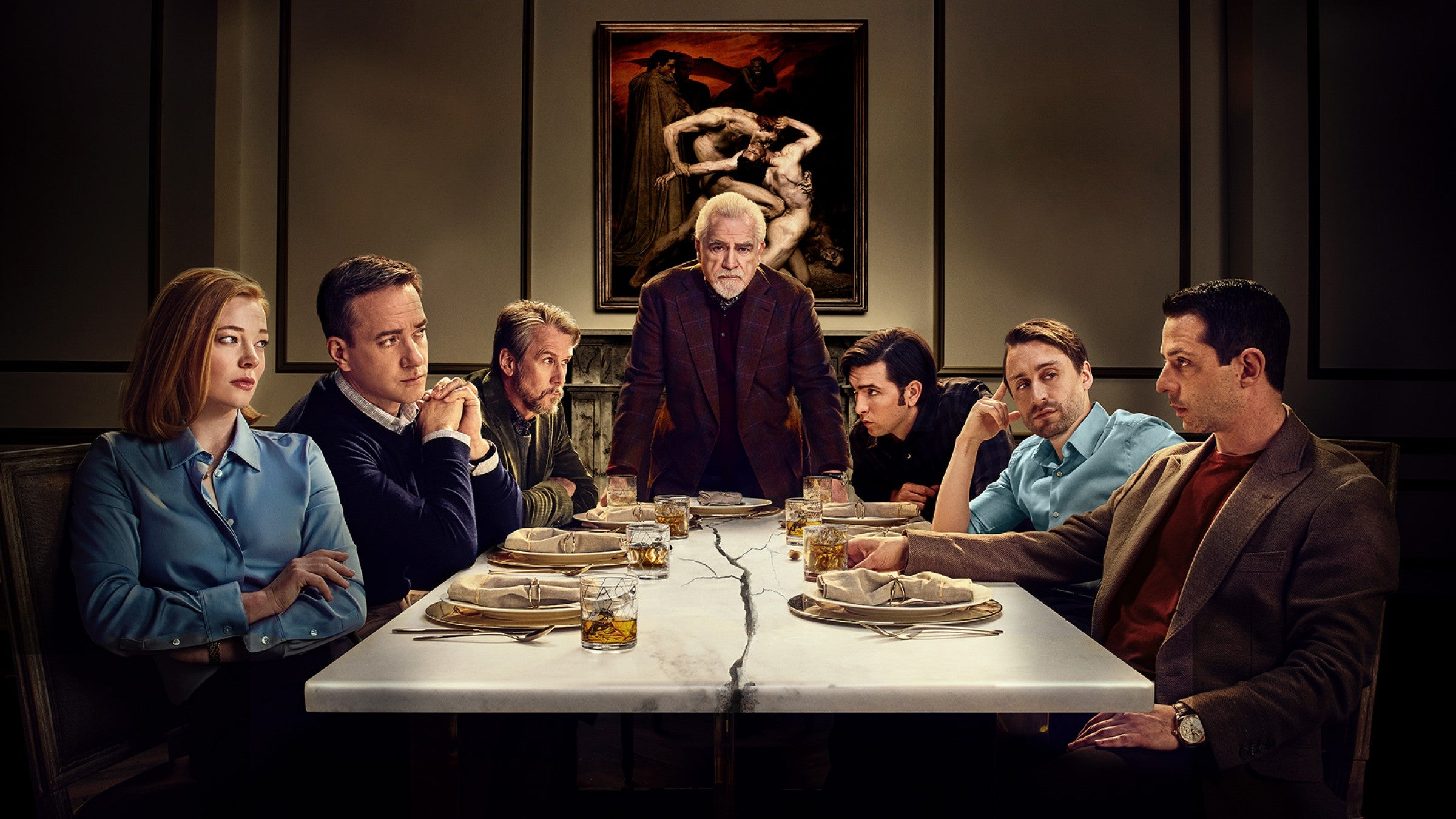"""""""Oink for your sausages"""": why food is a weapon in HBO's Succession"""