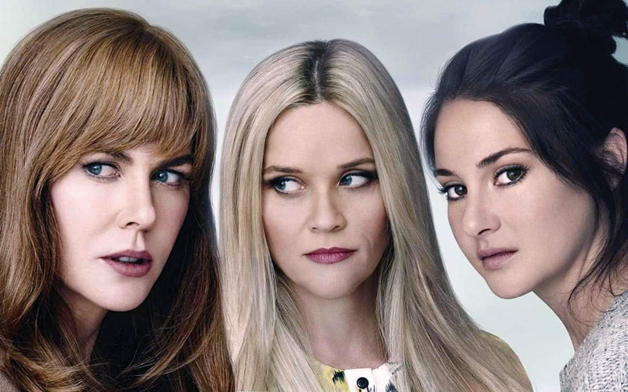 Imagine, if you can, a Desperate Housewives/Midsomer Murders smoothie – that's Big Little Lies