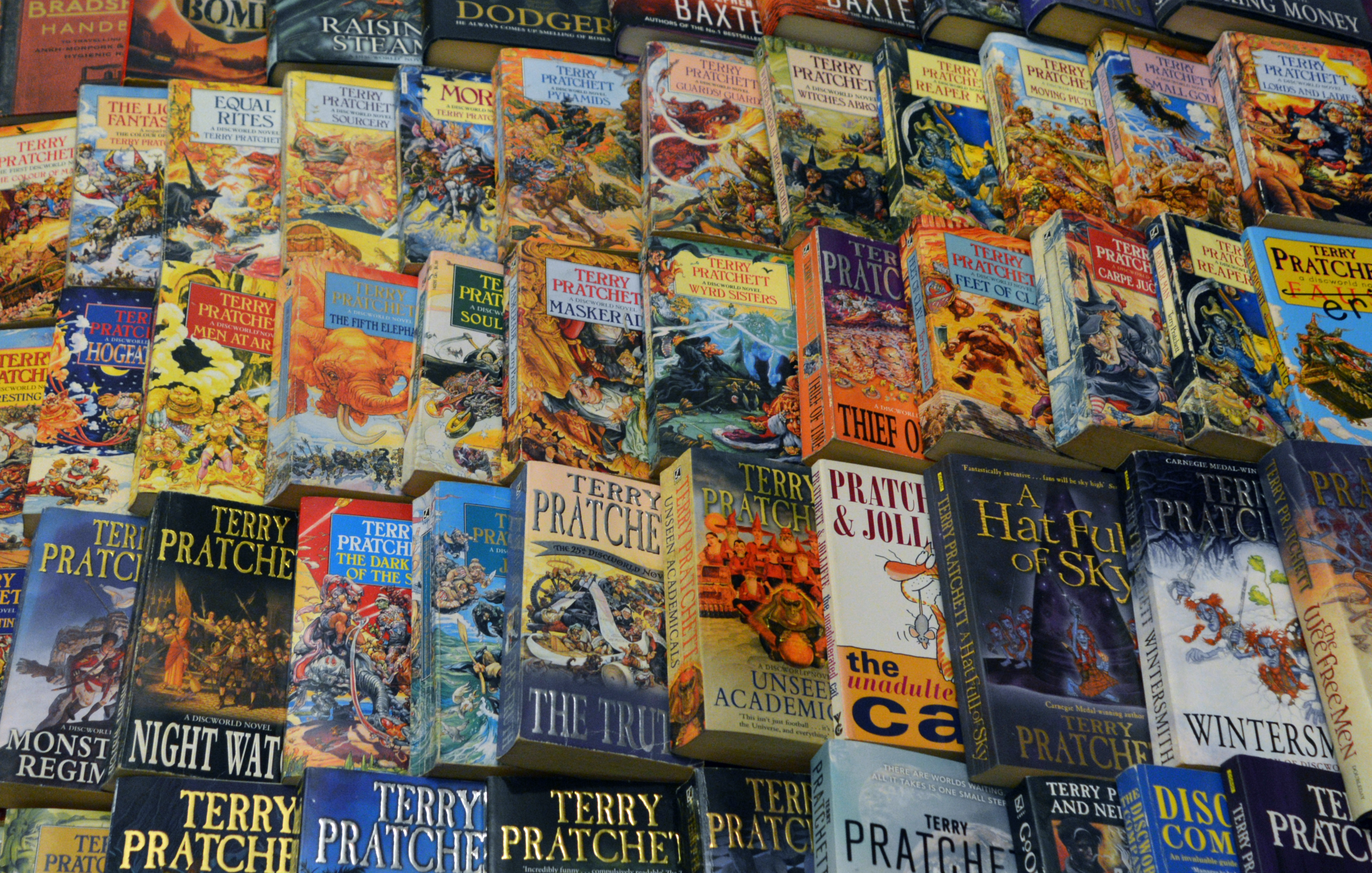 Goodbye to Terry Pratchett, the only writer who ever truly conquered my inner cynic