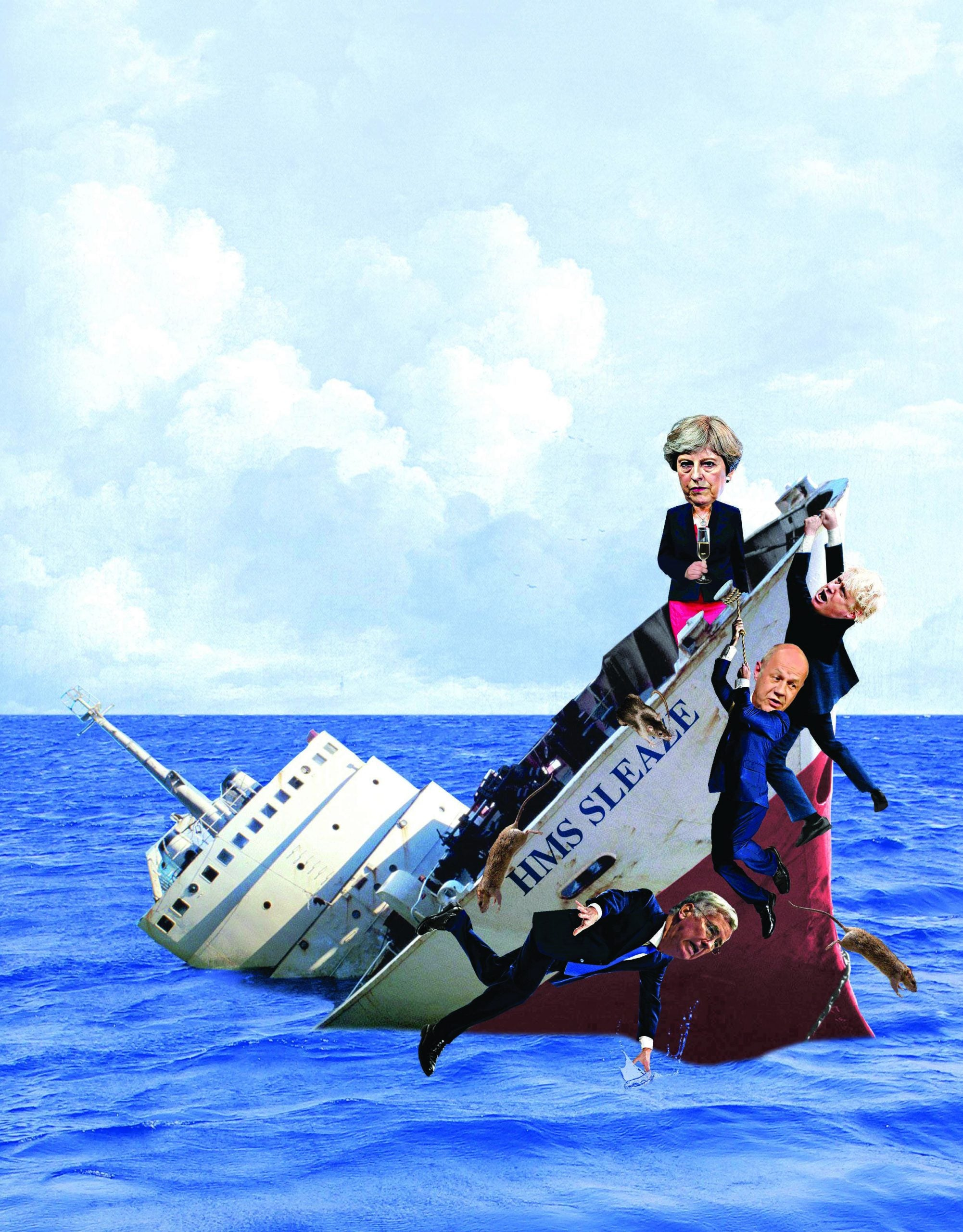 Leader: The Tory ship is sinking