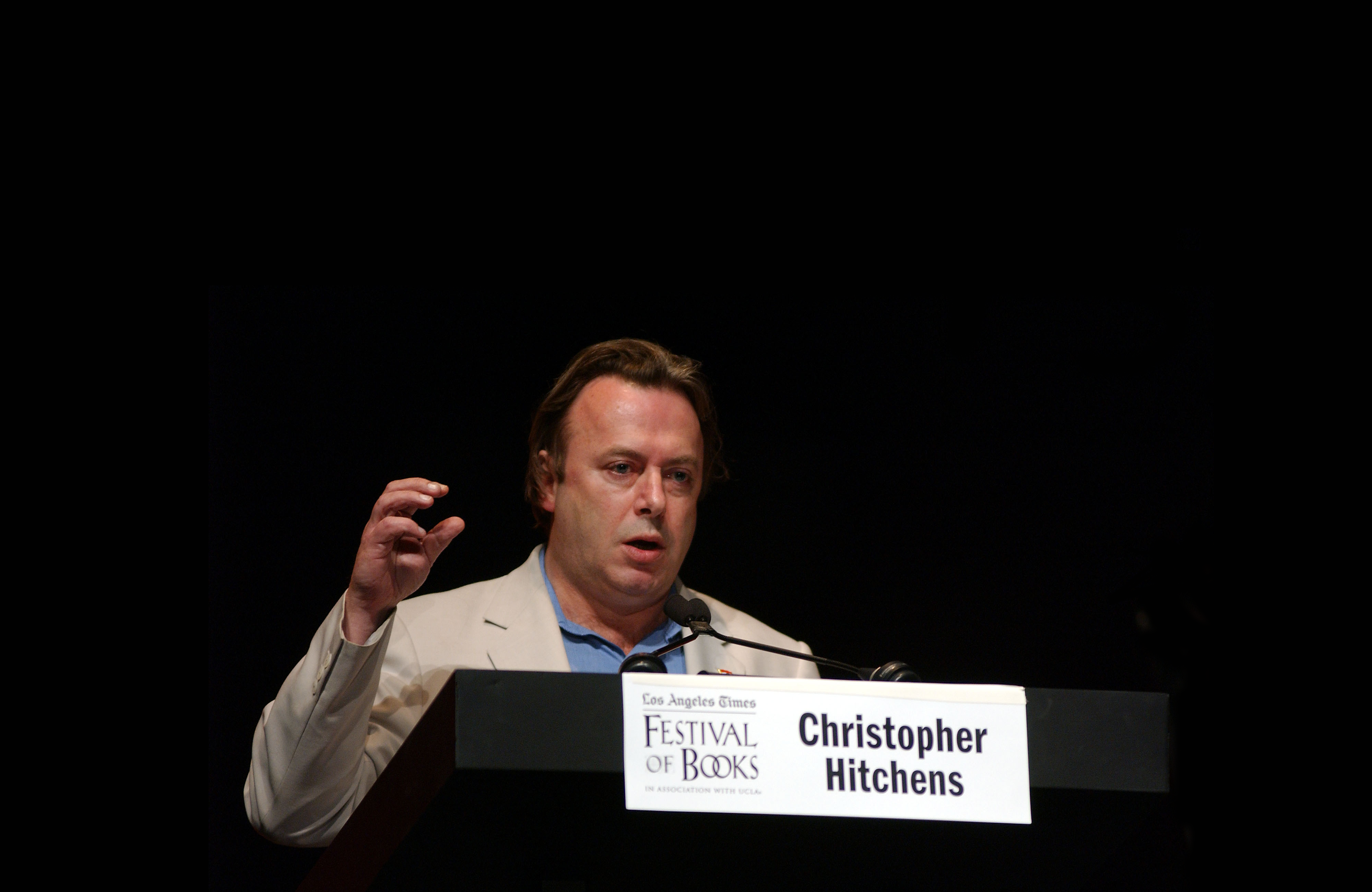 """""""Never be afraid of stridency"""": Richard Dawkins' interview with Christopher Hitchens"""