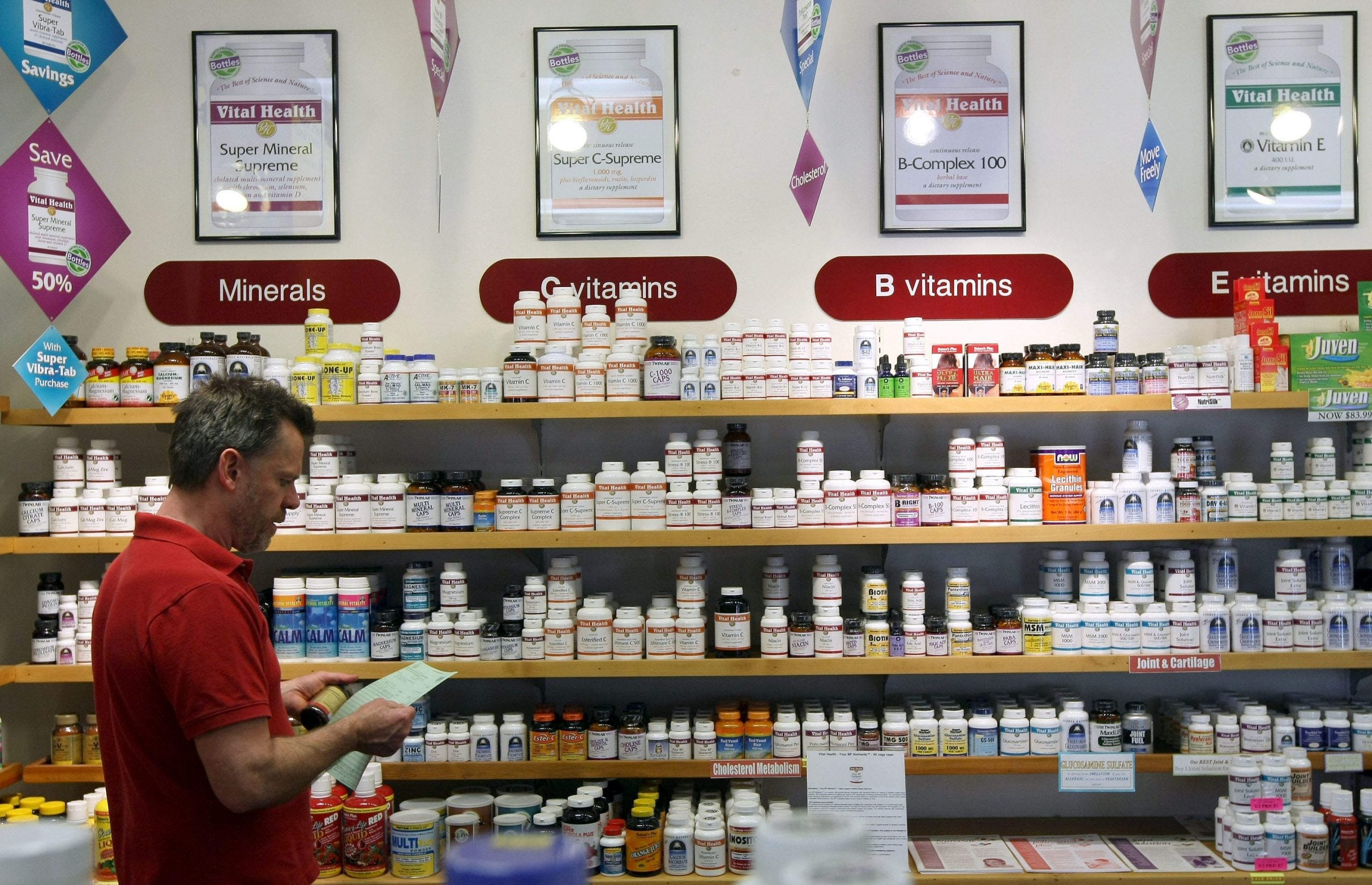 The Vitamin Paradox: why both health and illness boost our misplaced trust in supplements