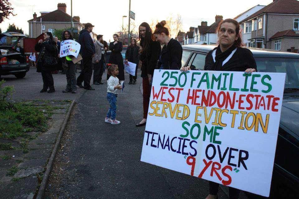 How council promises have fallen away, leaving the West Hendon estate in dire straits