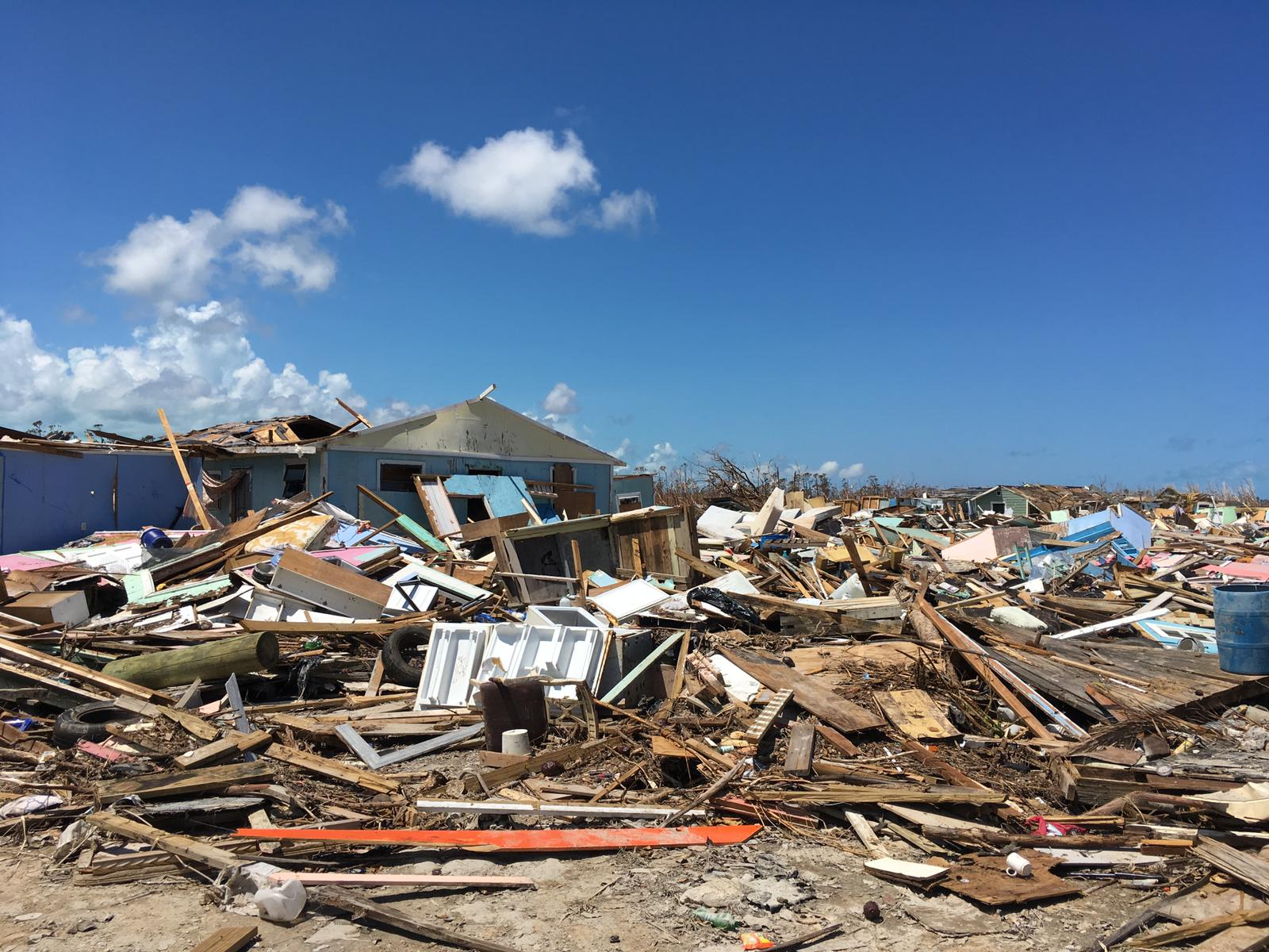 """""""The place has been absolutely flattened"""" – inside the Hurricane Dorian relief effort"""