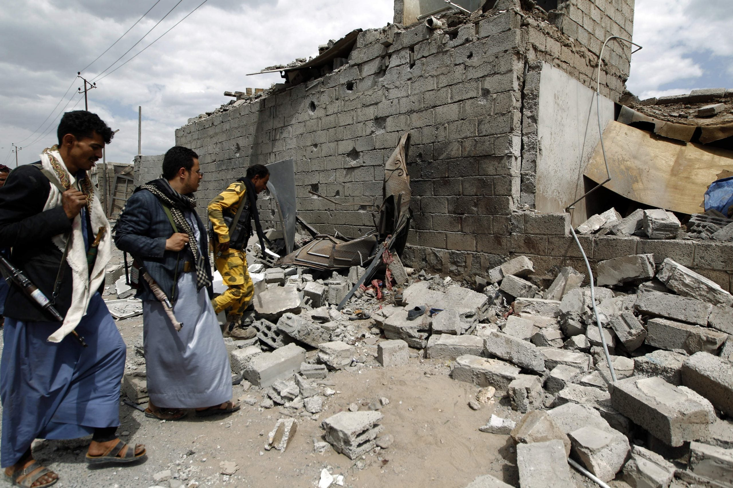 """""""Journalists are too scared to come"""": Refugees on the forgotten war in Yemen"""