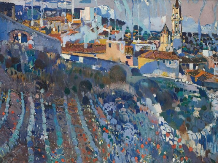 Joaquin Mir's colourful Spanish landscapes