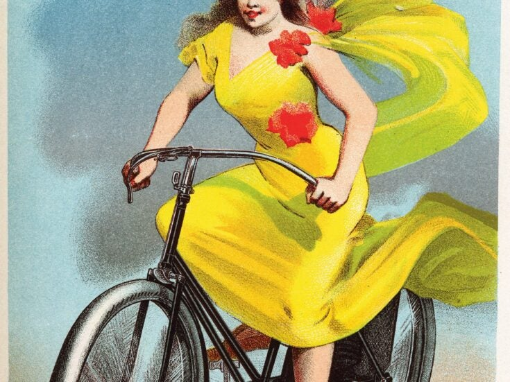 How the bicycle set women free