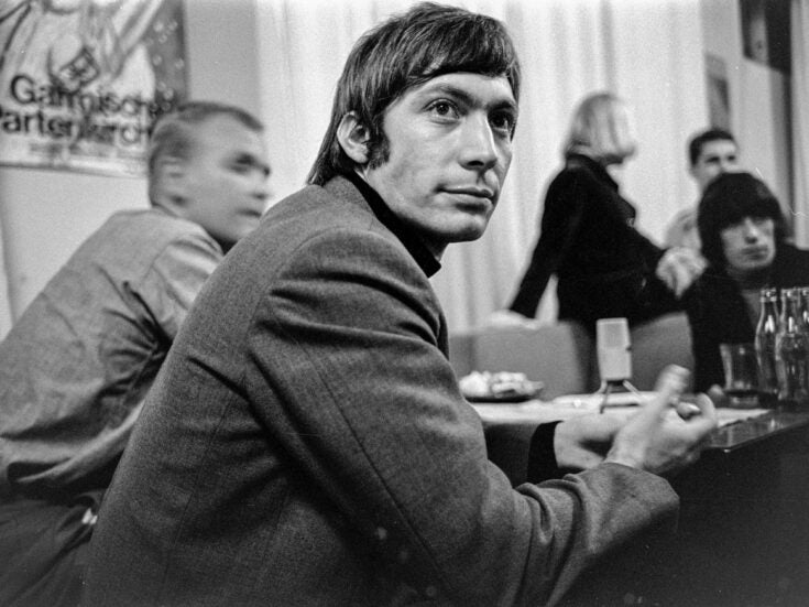 Charlie Watts was the quietest, and coolest, of the Rolling Stones