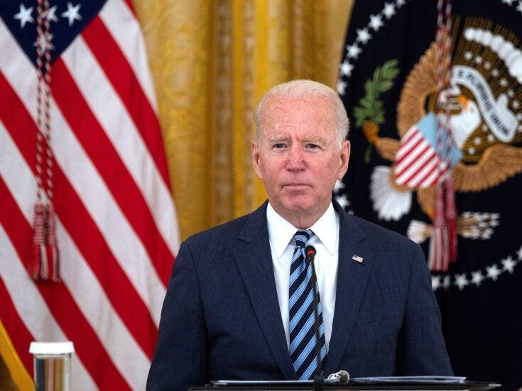 Joe Biden's approval ratings have entered negative territory