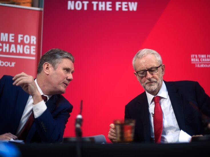 Keir Starmer needs to end Labour's civil war