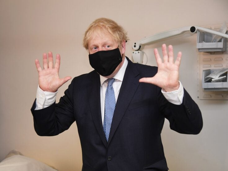 Boris Johnson's new policy on masks prioritises simplicity over safety
