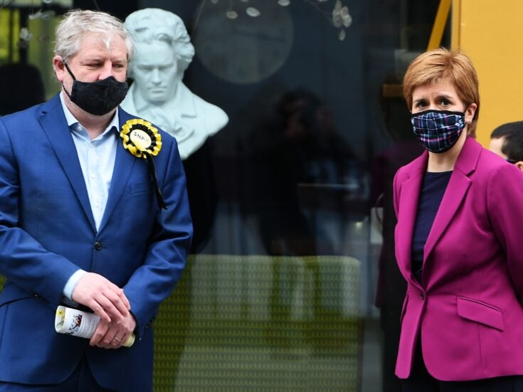 The SNP should stop pretending that Scotland is in any fit state for independence
