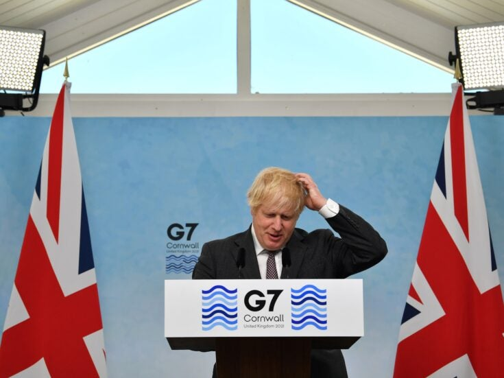 Boris Johnson is treating the public like fools over Brexit and Northern Ireland