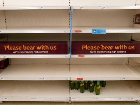 UK retailers report lowest level of stock since 1983