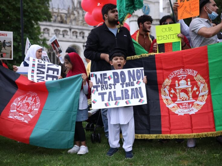 Is the Afghanistan crisis changing UK attitudes to military intervention?