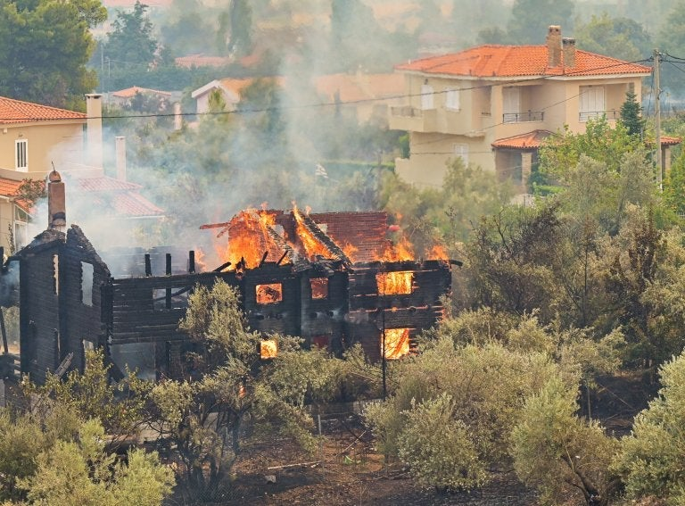 Europe's year of fire is set to be the worst ever