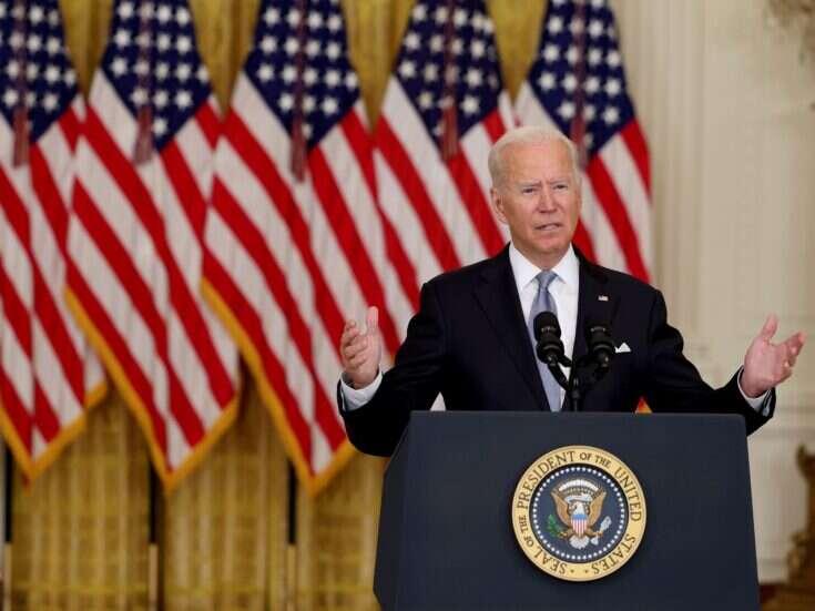 Joe Biden passes the buck over the Afghanistan crisis