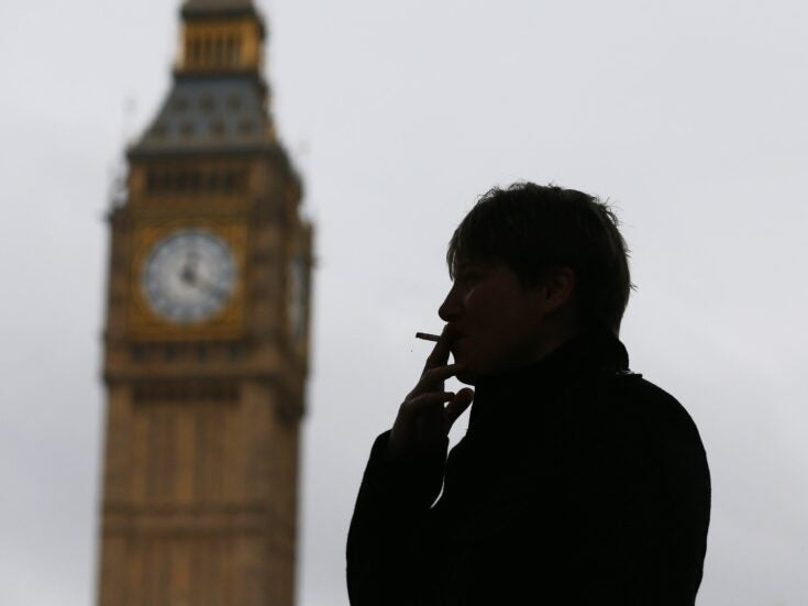 Smoking-related cancers are twice as high among England's poorest