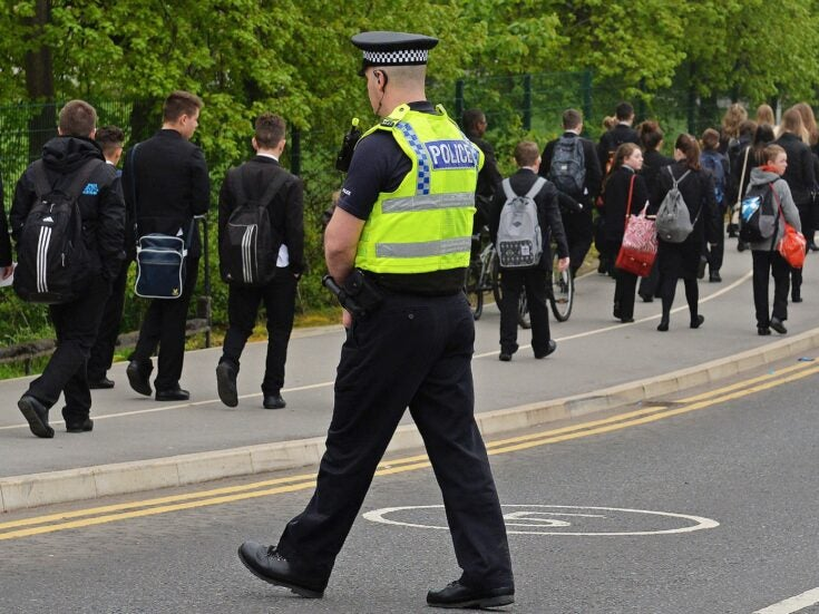 How policing is being sewn into the fabric of British schools