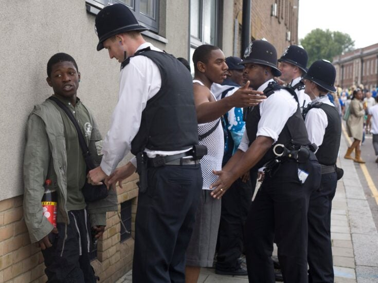 How police stop and search remains racially biased
