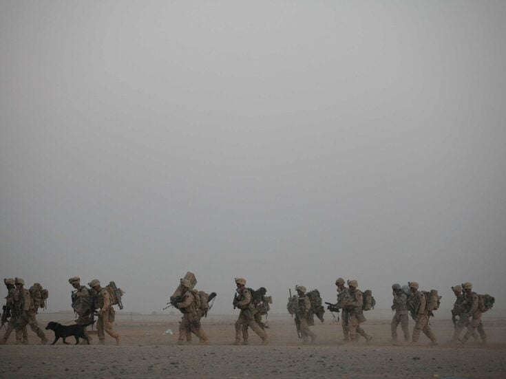 The US withdrawal from Afghanistan is advancing quickly – but so is the Taliban