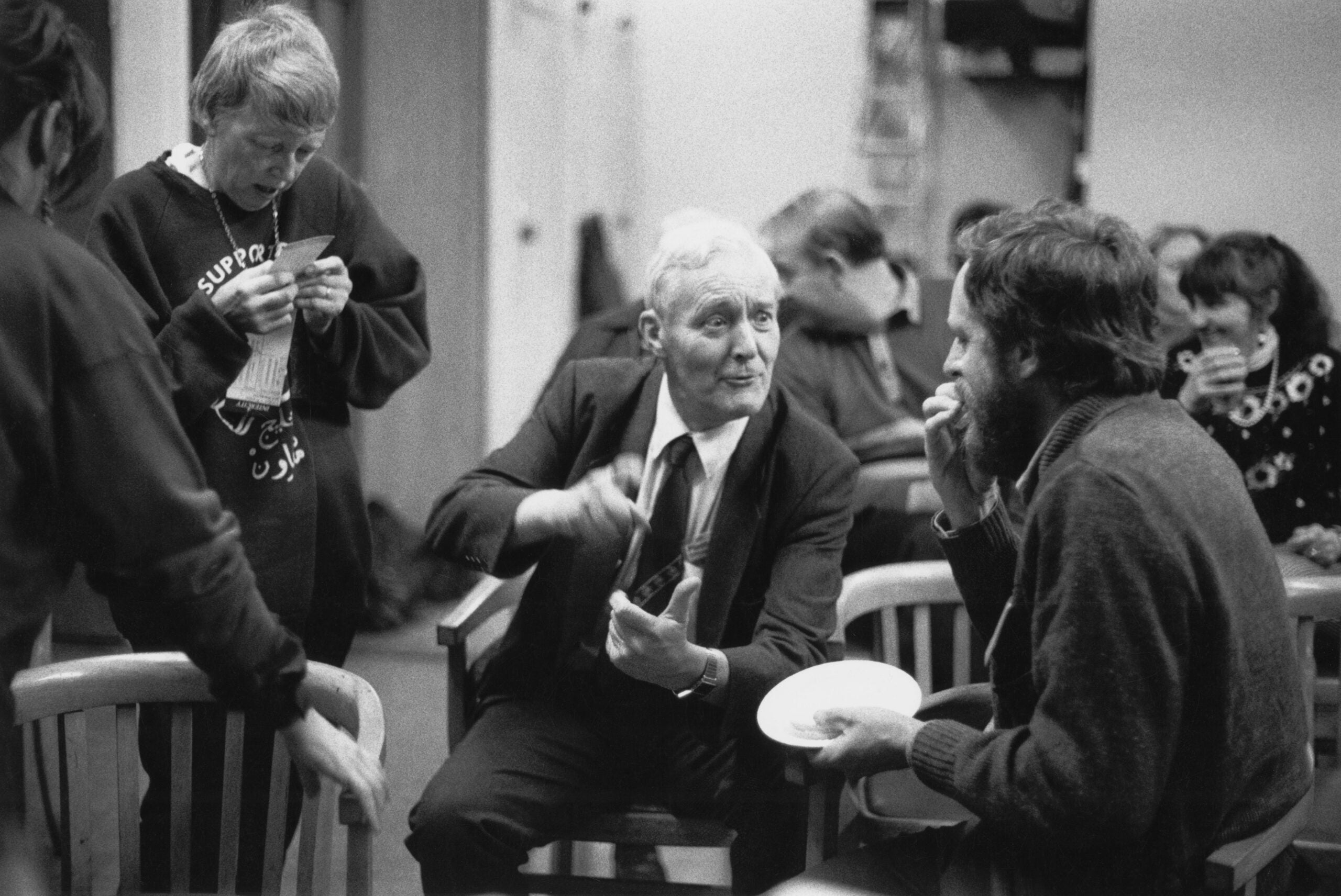 From the NS Archive: Tony Benn and a Labour leadership challenge