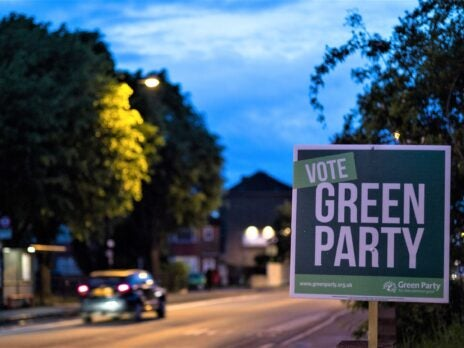 Who is running for the Green Party leadership election?
