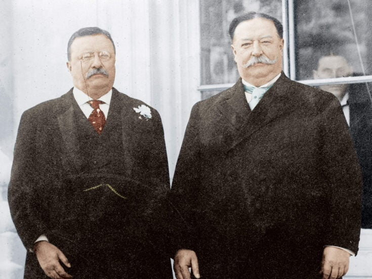 A presidential bromance: Theodore Roosevelt and William Howard Taft