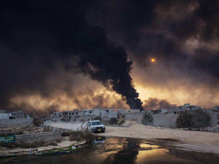 Fight to the death in Mosul