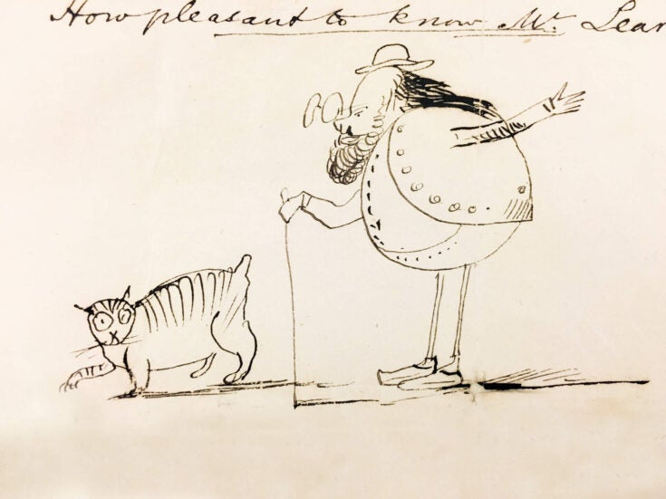 Nonsense and sensibility: the brilliant and conflicted mind of Edward Lear
