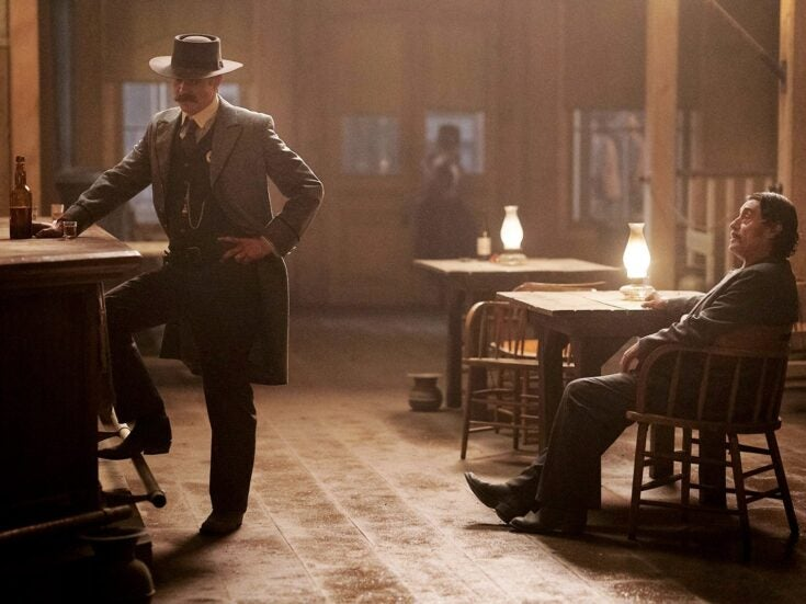 Deadwood: The Movie concludes the bloodiest, sweariest, most swaggering Western there ever was
