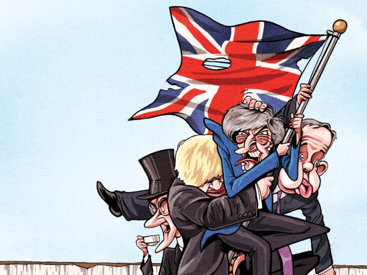 The ship of English fools: with Johnson, Corbyn and Farage at the helm, Britain is heading for disaster