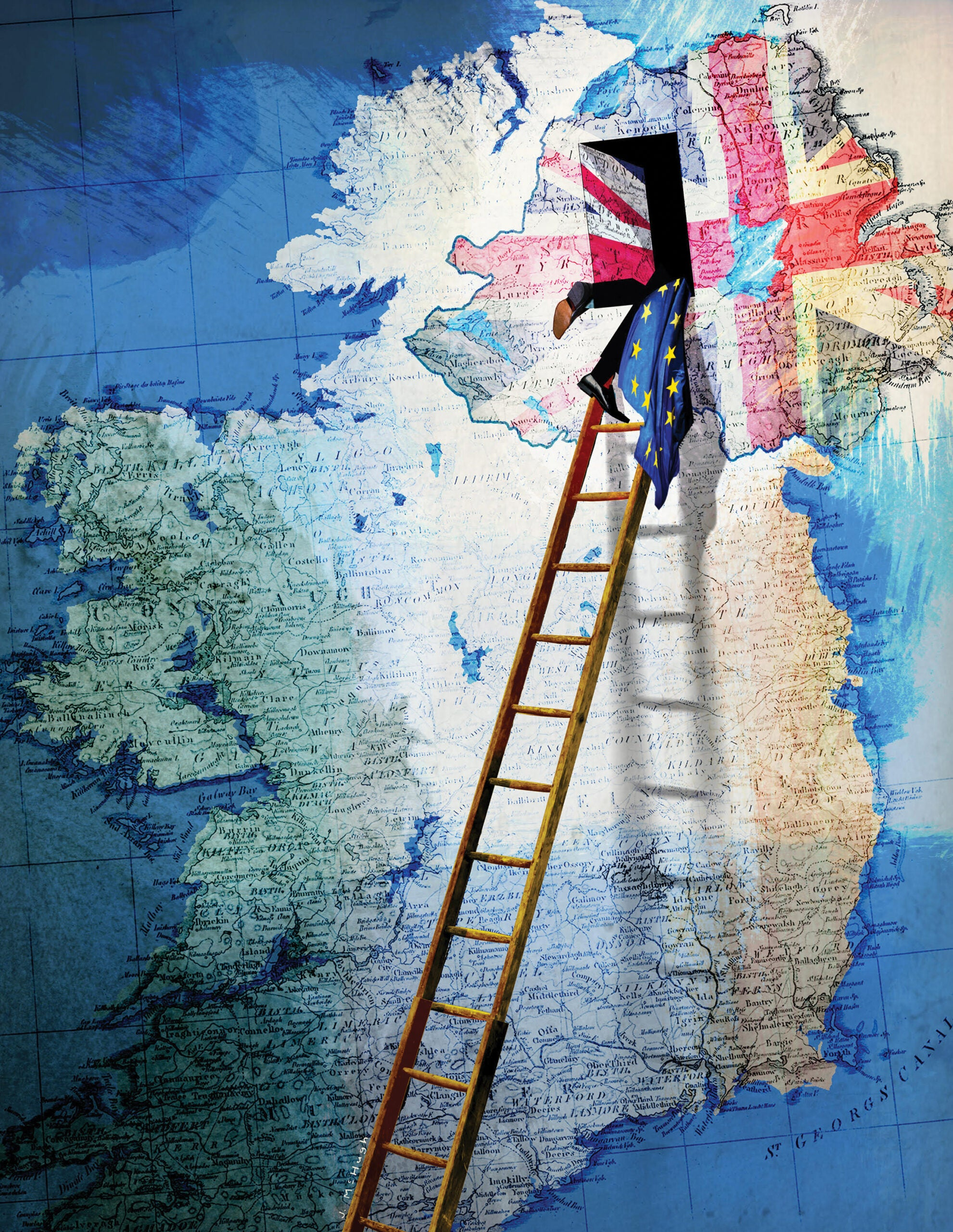 From backdoor to backstop: Ireland's shifting relationship with Britain and Europe