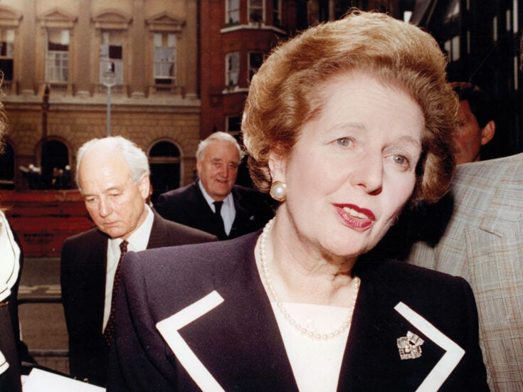 Andrew Marr on Margaret Thatcher: the Iron Lady's last stand